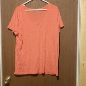 Eddie Bauer peacher plus size tee shirt
